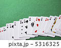 ゲーム 柄 トランプの写真 5316325