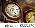 掛け時計 文字盤 時計の写真 5333879