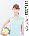 バレーボール イメージ  5337182