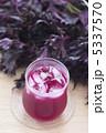 赤ジソ シソジュース 赤シソの写真 5337570