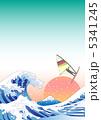 大波 荒波 海のイラスト 5341245