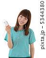 聞く 聴く スマートフォンの写真 5344380