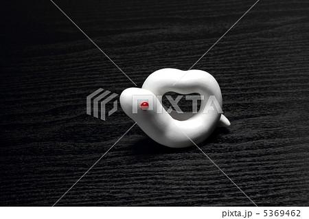 白蛇の蛇 巳年干支クラフト2013年 5369462