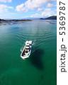 青い海と船 5369787