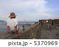 魚釣り フィッシング 海釣りの写真 5370969