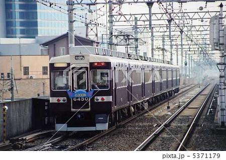 阪急 京都線 6300系 6350F 25周年ヘッドマーク 回送 5371179