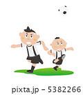 パス/少年サッカー【スポーツイラスト】 5382266