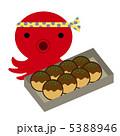 タコ焼き タコヤキ たこやきのイラスト 5388946