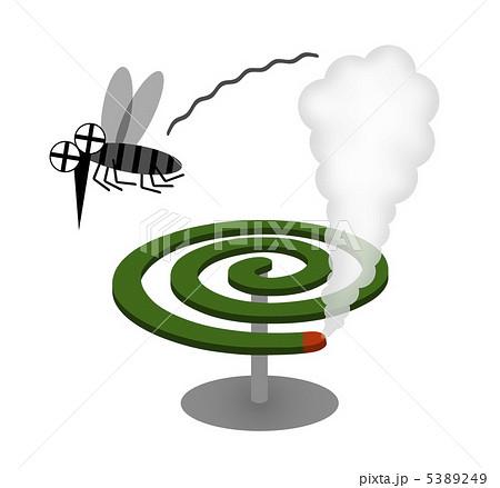 蚊取り線香のイラスト素材 5389249 Pixta