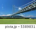 明石海峡大橋 明石大橋 橋の写真 5389831