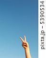 空と手 5390534
