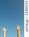 空と手 5390535