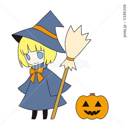 ハロウィン 魔女のイラスト素材 5396306 Pixta