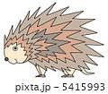 針鼠 ハリネズミ 動物のイラスト 5415993