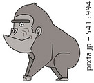 マウンテンゴリラ 類人猿 猿のイラスト 5415994
