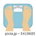 体重測定 5419685