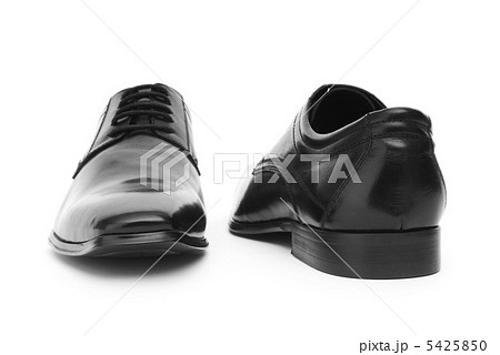 Male shoes isolated on the white backgroundの写真素材 [5425850] - PIXTA