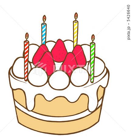 イチゴケーキのイラスト素材 5426640 Pixta
