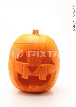 ハロウィンかぼちゃのジャックオーランタン 縦 5467440