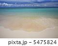 海 波打ち際 ビーチの写真 5475824