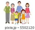 祖父母 ベクター 孫のイラスト 5502120