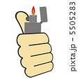 着火 オイルライター ライターのイラスト 5505283