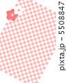 市松模様のカード 5508847