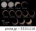 金環日食 5531116