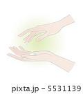 ハンドケア 手 ボディパーツのイラスト 5531139