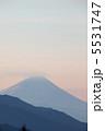 清里からの富士山 5531747