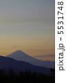 清里からの富士山 5531748