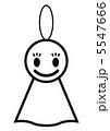 てるてる坊主 5547666