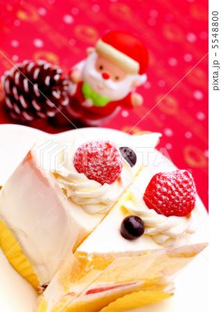 クリスマスケーキ と サンタクロース 2 5548800