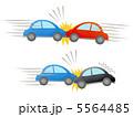 衝突 追突 自動車事故のイラスト 5564485