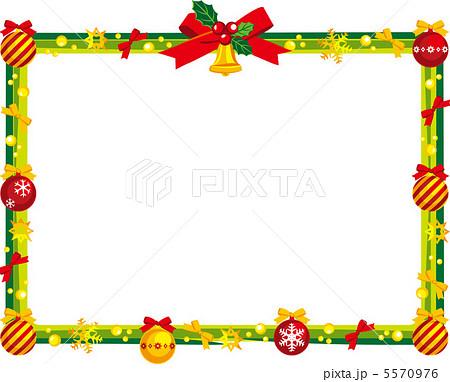 クリスマス フレームのイラスト素材 5570976 Pixta