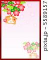 松竹梅 巳 絵馬のイラスト 5589157