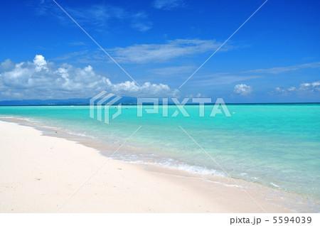 竹富島 コンドイビーチの風景 5594039