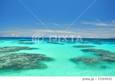 波照間島 コバルトブルーの海 5594042