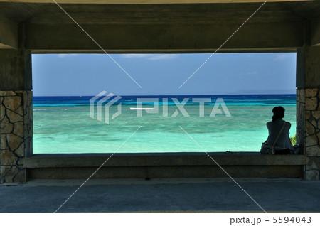 波照間島 東屋からの風景 5594043