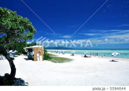 竹富島 コンドイビーチの風景 5594044