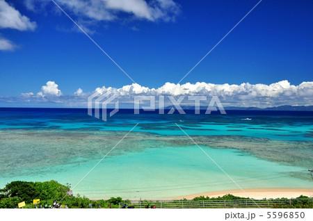 波照間島 コバルトブルーの海ニシハマ 5596850