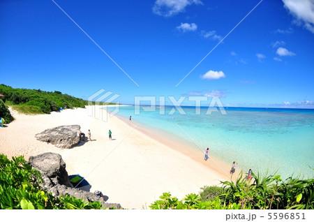 波照間島 コバルトブルーの海ニシハマ 5596851