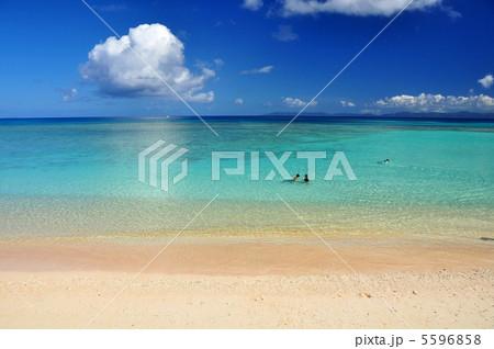 波照間島 コバルトブルーの海ニシハマ 5596858