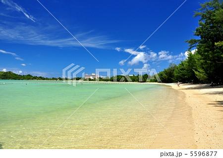 石垣島 底地ビーチの風景 5596877