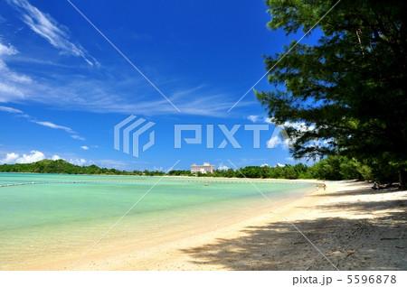 石垣島 底地ビーチの風景 5596878