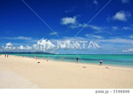 竹富島 コンドイビーチの風景 5596896