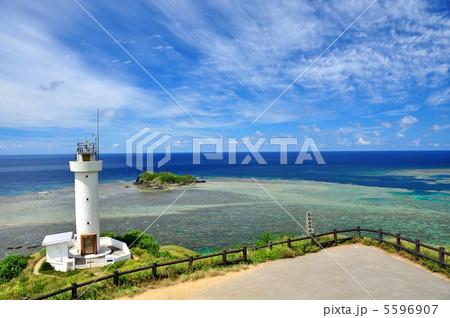 石垣島 平久保灯台からの景色 5596907