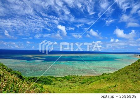 石垣島 平久保からの景色 5596908