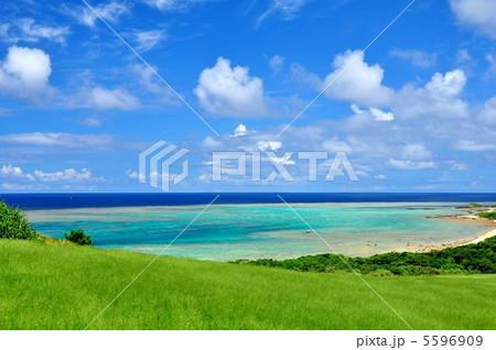 石垣島 平久保からの景色 5596909