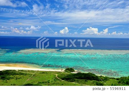 石垣島北部、高台からの風景 5596911